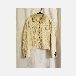 Jean/ corderoid jacket